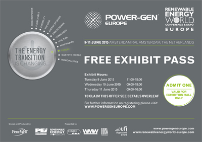 stejasa participa en POWER GEN EUROPE