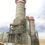 The construction of the three gas turbine exhaust systems downstream three Siemens SGT6-5000F has concluded